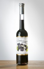 cassis liqueur, kir, kir royale, black currant liqueur, black currant liquor, organic black currant fruit liqueur, organic black currants, Clear Creek Distillery, no sulfites added black currant liqueur,