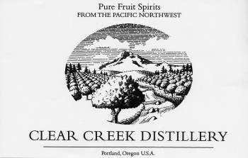 Clear Creek Distillery, eau de vie, fruit liqueurs, fruit spirits, Portland, Oregon