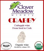 crabapple wine, organic apple wine, apple wine, Wisconsin