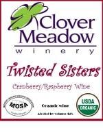 organic cranberry wine, organic raspberry wine, Wisconsin