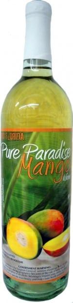 pure paradise mango wine