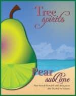 Pear subLime label shot.