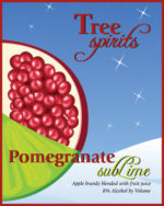 Pomegranate subLime label.
